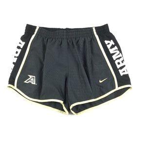 "NIKE Army Tempo Lined Black 3.5"" Training Shorts"